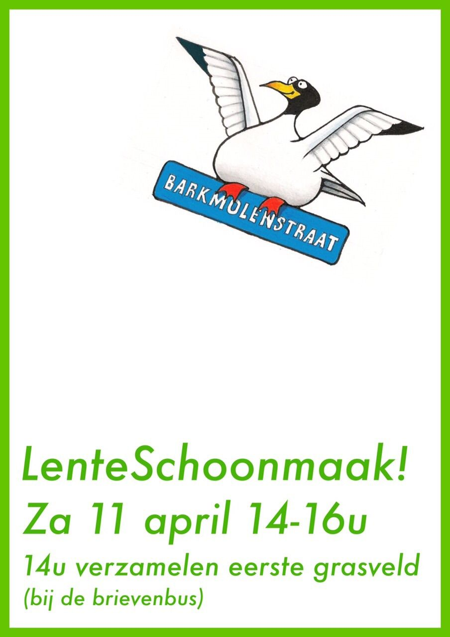 Poster Lentekriebels