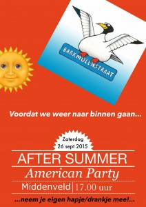 After Summer American Party poster